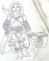 Mara Dragonheart by Valkyryn