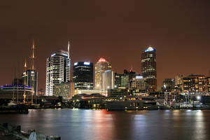 Auckland Cityscape by Rikko40