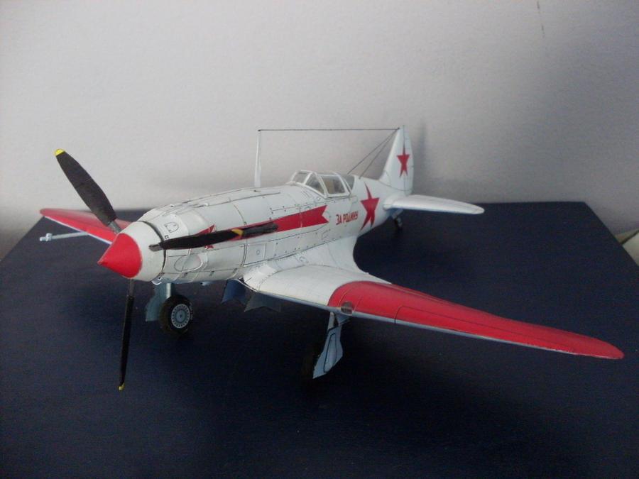 MiG-3 1:33 Modelart Papercraf by Mrpalaces