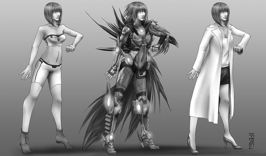 Heroine Concept by X-RaD