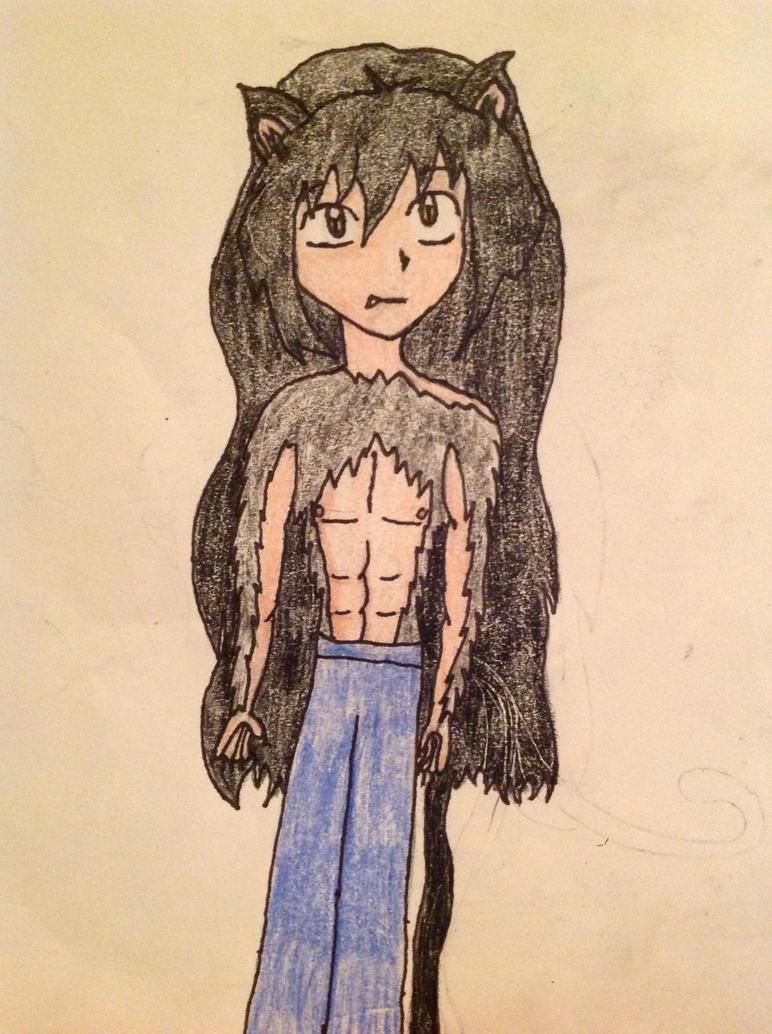Kiyoshi- human(ish) form by Amaterasu-Hanako