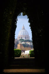 View through the keyhole