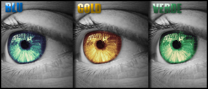 Photoshop Tutorial: Colr eye