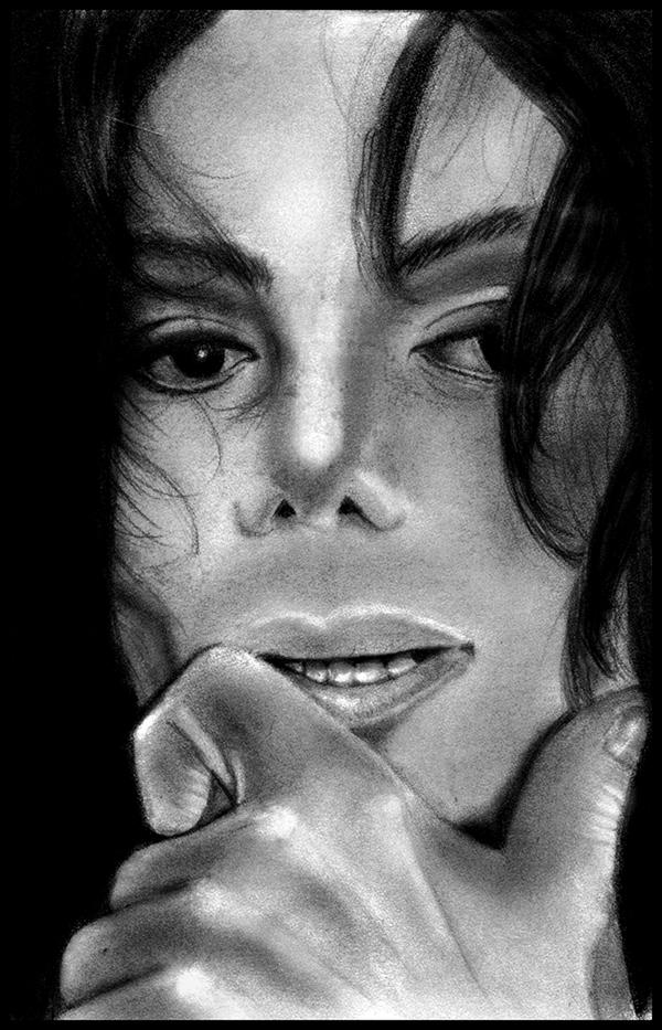 Michael Jackson - Silent Stare by POE-R7