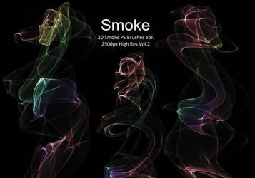 20 Smoke PS Brushes abr. Vol.2