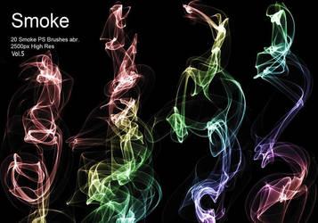 20 Smoke PS Brushes abr. Vol.5 20