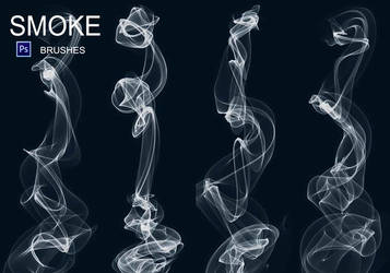 20 Smoke PS Brushes abr. Vol.6