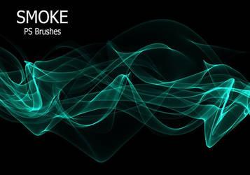 20 Smoke PS Brushes abr. Vol.9