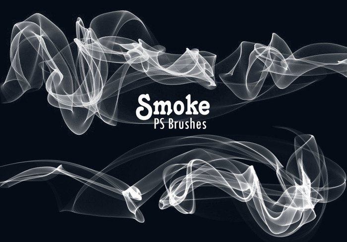 20 Smoke PS Brushes abr. Vol.10