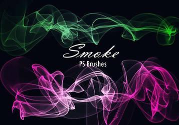 20 Smoke PS Brushes abr. Vol.11