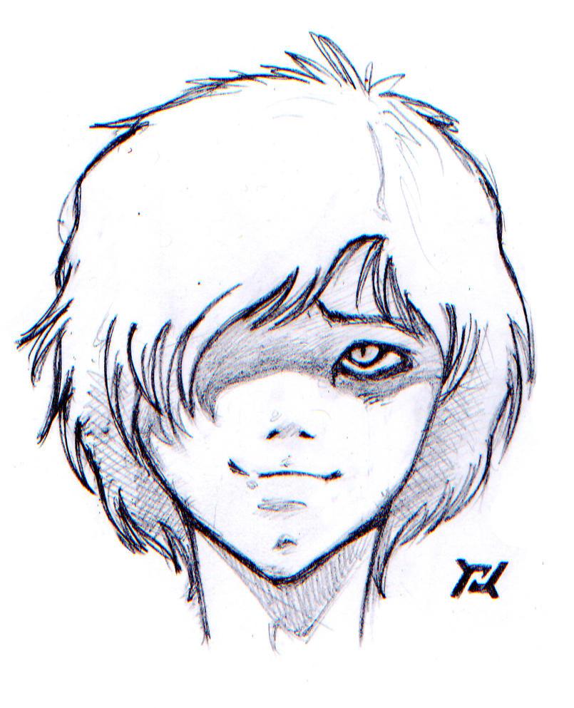 Seft Portrait Manga II Pencil by RamonXick