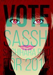 SASSHI SENBATSU SOUSENKYO 2014 FAN POSTER by RamonXick
