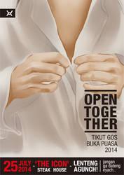 [OPEN TOGETHER] TIKUT GOS BUKA PUASA BERSAMA 2014 by RamonXick