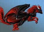 Secret Santa Dragon 2 by Draconigenae666