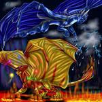 Goldblaze and Silverstorm
