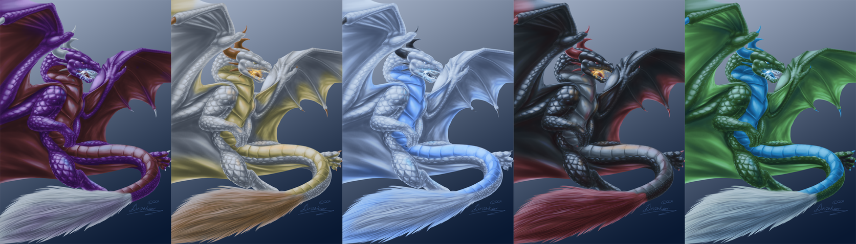 dragon prints collage for fe by draconigenae666 on deviantart