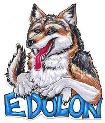 Badge for edolon at FC by Draconigenae666