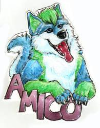 Amico Badge by Draconigenae666