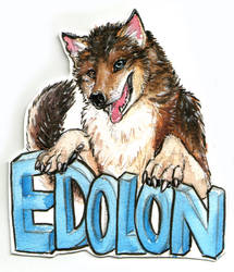 Edolon Badge Again by Draconigenae666
