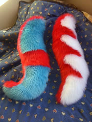 2 tails by Draconigenae666