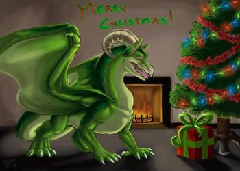 Dragon-Dudette Secret Santa by Draconigenae666