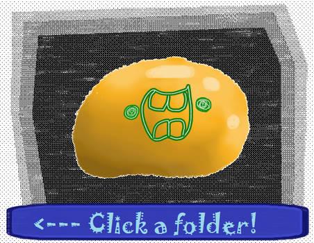 Click a Folder from Blobo