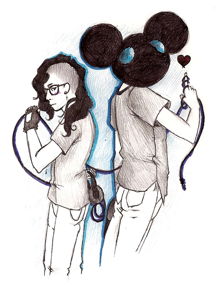 Skrillex and Deadmau5 by HopelessProd on DeviantArt