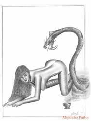 Serpiente 2 by Alexpintor