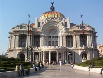 Bellas Artes Mexico 2 by Alexpintor