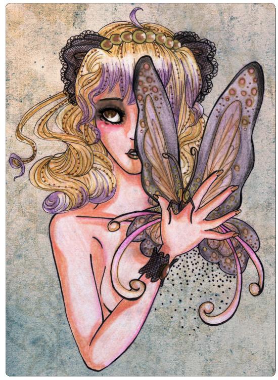 .Inner Butterfly. by Yaraffinity