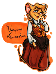 TGMD OC Series - Virginia Flaversham by Yaraffinity