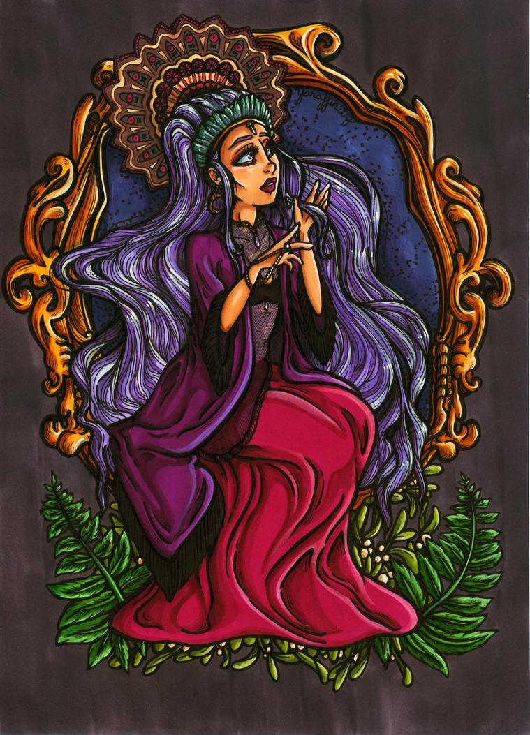 .:Enchantress of the Night:. by Yaraffinity