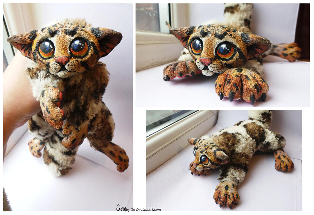 Mozartti the Oco-lemur-fox SOLD by Sovriin