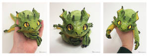 Penda the OOAK Tree Dragon Art Doll FOR SALE