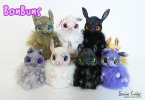 BonBuns! Original OOAK Art Dolls FOR SALE by Sovriin
