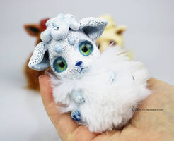 Alolan Vulpix BonBun Art Doll SOLD by Sovriin