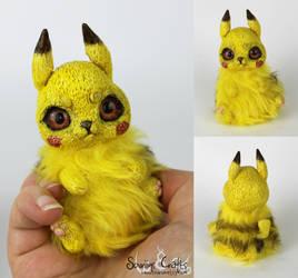 Fluffy Sparklebutts the BonBun Art Doll FOR SALE by Sovriin