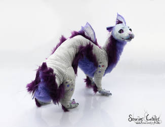 Sanuik the Sea Puppy Poseable Art Doll SOLD . by Sovriin