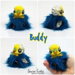 Buddy the BonBun Art Doll SOLD by Sovriin