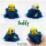 Buddy the BonBun Art Doll SOLD