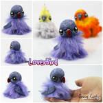 LoverBird the OOAK BonBun Art Doll FOR SALE