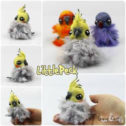 Littlepeck the OOAK BonBun Art Doll FOR SALE by Sovriin