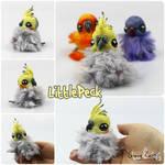 Littlepeck the OOAK BonBun Art Doll FOR SALE