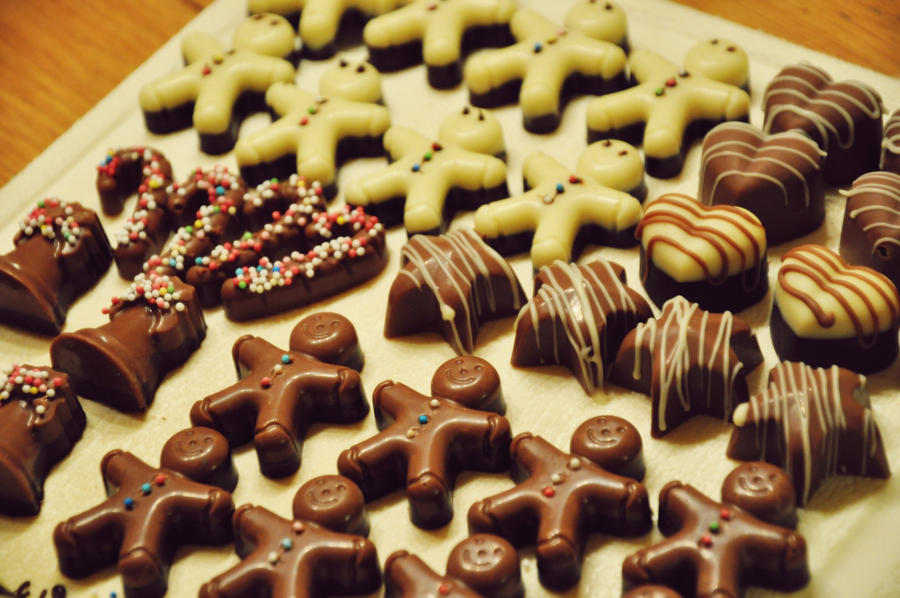 Christmas chocolates II by Disneys-Buffy