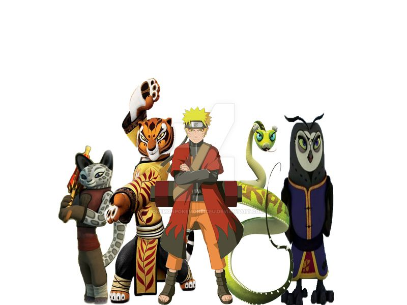 Naruto Kung Fu Panda by PokemonPokemonLiceu on DeviantArt