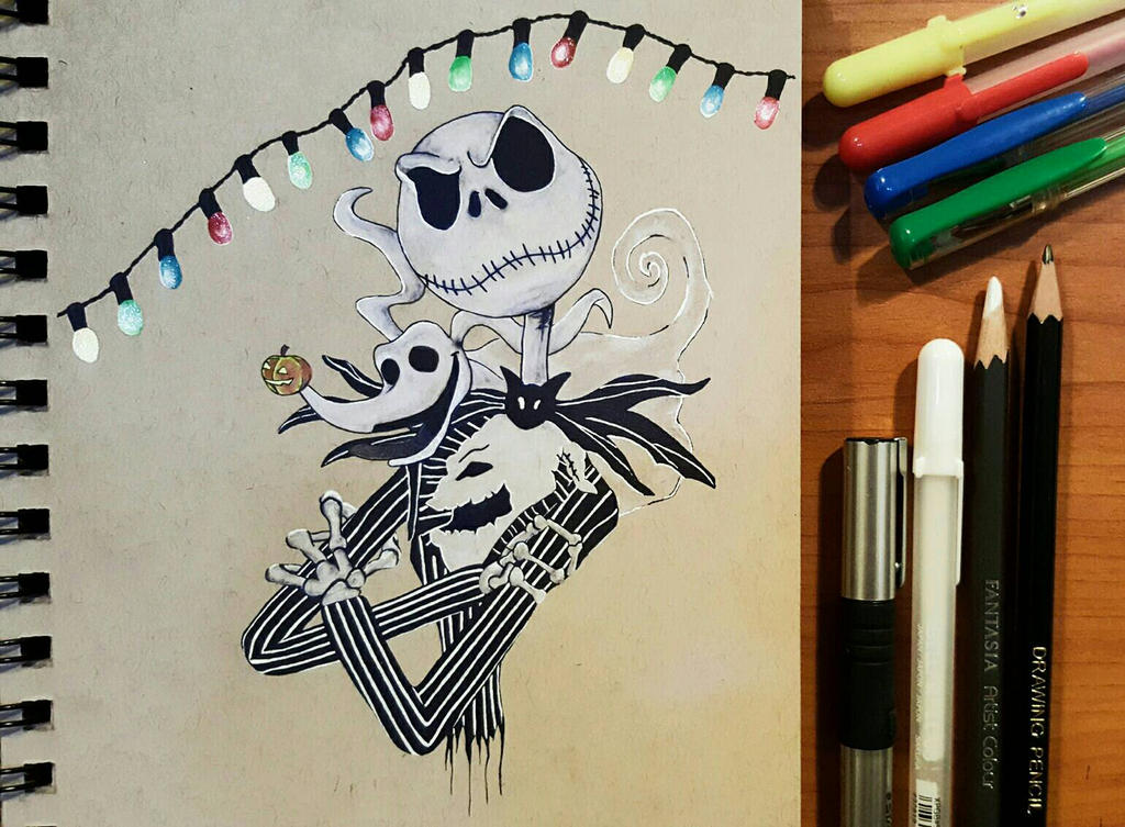 The Nightmare Before Christmas by JennyyLovee