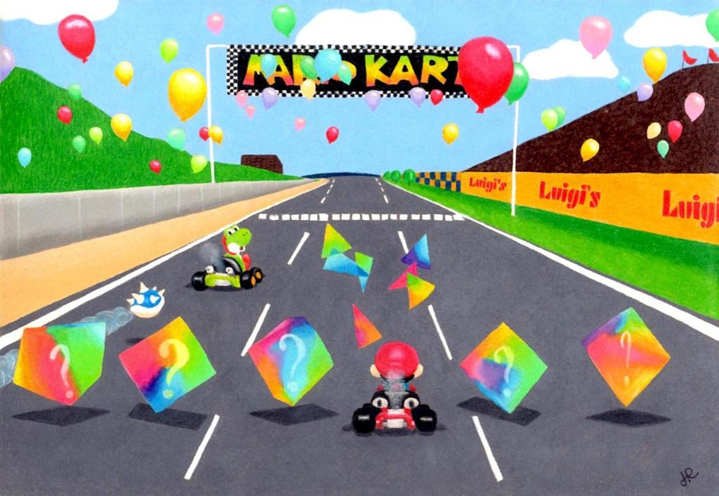 Mario Kart 64 By Jennyylovee On Deviantart