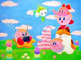 Kirby's Dreamland by JennyyLovee