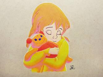 Be Brave, Little One by JennyyLovee