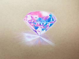Diamond Study by JennyyLovee
